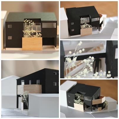 ふくい建築賞2014の優秀賞の模型写真